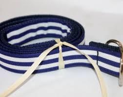 navy blue and white striped ribbon kids striped ribbon belt black and white preppy boys