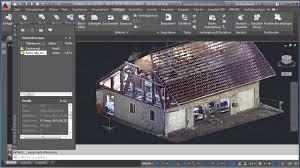 autocad architektur neue funktionen in autocad 2015 tutorial punktwolken video2brain