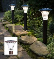 Solar Path Light Estate Solar Path Lights Set Of 2 Solar Lighting