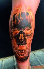 skull on by sergey gas artist and tatting