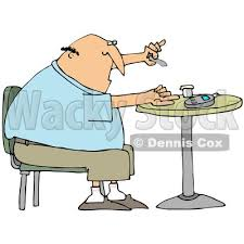 child sitting clipart sitting in chair at the table clipart