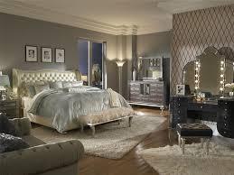bedroom vanity sets amazon com aico hollywood swank vanity with bench set 3 piece in