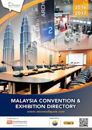 malaysia convention u0026 exhibition directory 2016 2017 by marshall
