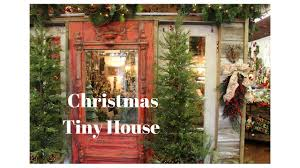 christmas tiny house at interior homestore sherman tx youtube