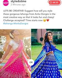 Challenge Guys Style The Lehenga Challenge Guys It S Time To Get Creative And
