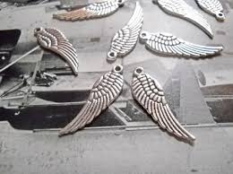 wing charms pendants wholesale charms bulk charms 30mm