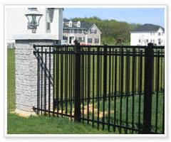security black powder coating ornamental wrought iron fence panels