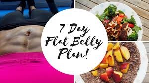 7 day flat belly healthy eating meal plan youtube