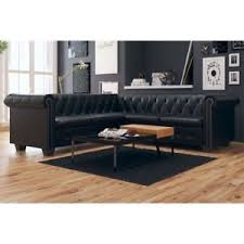 canapé de bureau vidaxl canapé pour salon bureau chesterfield 5 places cuir