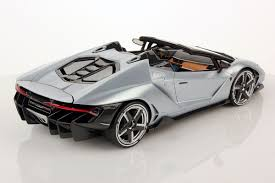 shiny silver lamborghini first pictures of lamborghini centenario roadster 1 18 mr