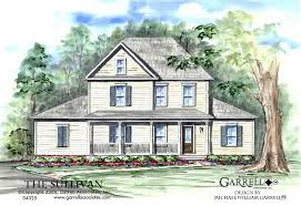 house plans farmhouse style sullivan house plan house plans by garrell associates inc