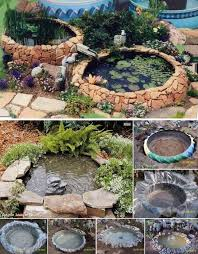 Building A Fish Pond In Your Backyard by Best 25 Diy Pond Ideas On Pinterest Turtle Pond Tire Pond And