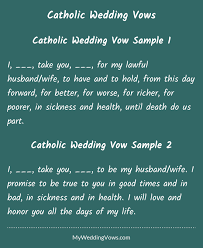 catholic readings for weddings catholic wedding vows husband catholic wedding and wedding