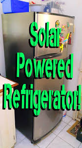 solar powered refrigerator electrical code solar power system