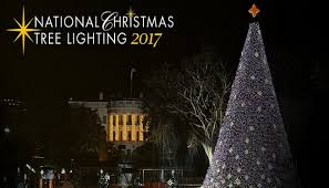 2017 national christmas tree lighting president trump lights national christmas tree for first time