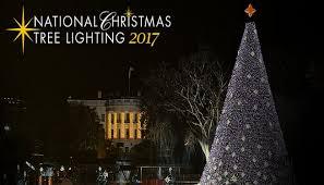 president lights national tree for time