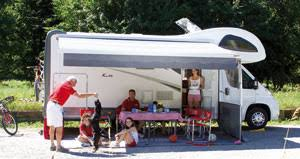 Fiamma Caravanstore Rollout Awning Roll Out Awnings For Motorhomes And Caravans