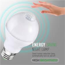pir led light bulb smuxi e27 b22 motion sensor led l bulb 5w 7w 12w smart pir sensor