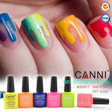 7 3ml canni factory supply wholesale gel color system uv led gel
