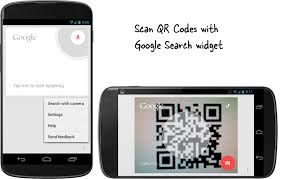 android qr scanner scan qr codes with the search widget on android