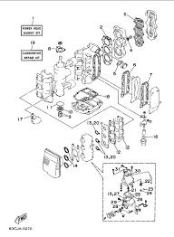 1999 yamaha repair kit 1 parts for 40 hp c40tlrx outboard motor