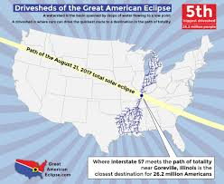 Illinois Interstate Map by Illinois Eclipse U2014 Total Solar Eclipse Of Aug 21 2017