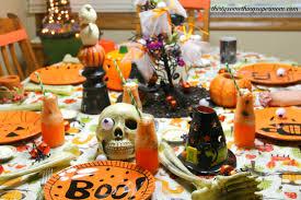 spooky halloween party u0026 tablescape ideas thirtysomethingsupermom