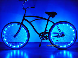 Light Bicycle Bike Led Lights Bicycle Glow In The Dark Light Up Party