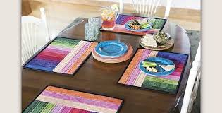 reversible place mats are a to make quilting digest