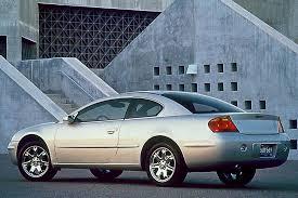 2003 Chrysler Sebring Interior 2001 06 Chrysler Sebring Consumer Guide Auto