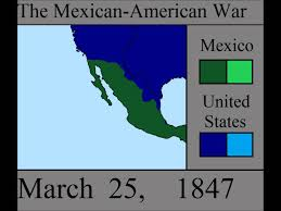 Us And Mexico Map The Mexican American War Every Week Youtube