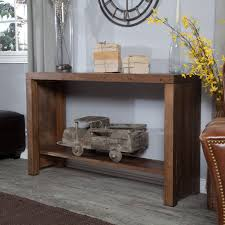 Rustic Tables Belham Living Brinfield Rustic Console Table Hayneedle