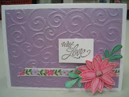 handmade embossed card ideas handmade4cards