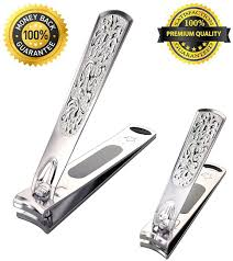 kooder nail clippers contain fingernail and toenail with nail file