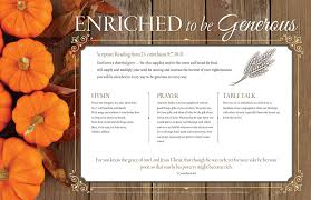 thanksgiving litany product goods creative communications