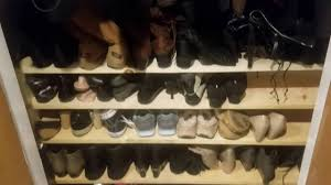 a better way to organize shoes in your closet youtube