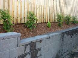 project grandview 26 landscaping along fence line