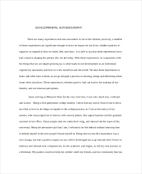 biography of famous persons pdf 9 autobiography exle free premium templates