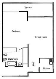 one bedroom floor plans one bedroom grand