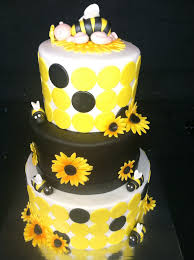 bumble bee baby shower cake baby shower themes