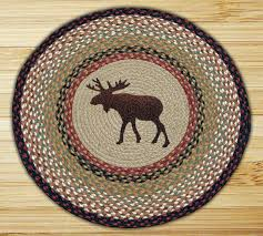 Braided Jute Rugs Moose Braided Jute Round Rug By Capitol Earth Rugs The Weed Patch