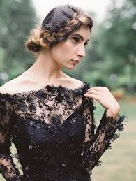 black wedding 10 breathtaking black wedding dresses sacramento golf weddings