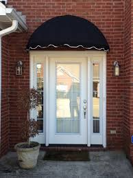 Glass Awnings For Doors Dome Awnings Sunbrella Canvas Dome Awning Kits For Any Home Easyawn