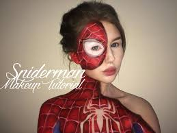 Spider Makeup Halloween by Spiderman Suit Makeup Tutorial Youtube