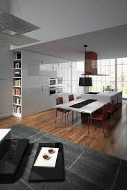 small modern design of the italian kitchen furniture that has