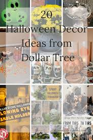 20 halloween decor ideas from dollar tree farm reformed