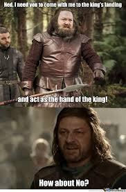 Ned Meme - game of thrones ned stark lives by 303karan meme center