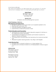 Resume Examples For Registered Nurse by 100 Director Of Nursing Resume Sample Resume For Rn Resume