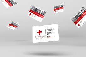 Medical Business Card Design Medical Business Card Template For Photoshop U0026 Illustrator
