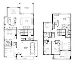 5 Bedroom House Plans Australia Floorplan Preview Double Storey In Sa House Plans